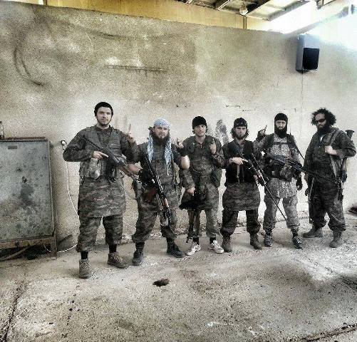 ISIS fighters from the Balkans