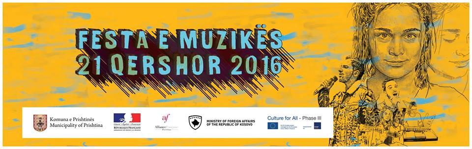 Fete de la musique turns Prishtina's center into a day-long concert