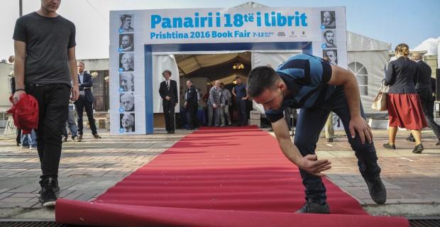 Prishtina International Book Fair opened on Tuesday, June 7. Photo: Atdhe Mulla.