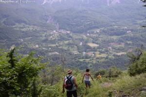 Descent to Theth. Photo: Ivana Dervishi.