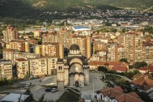 Topografi nga Mitrovica e Veriut. 09.06.15, Mitrovica. Photo: Atdhe Mulla