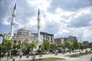 Pamje nga qyteti i Mitrovices. 10.06.15, Mitrovica. Photo: Atdhe Mulla