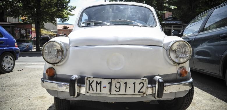 Kosovska Mitrovica plates. Photo: Atdhe Mulla