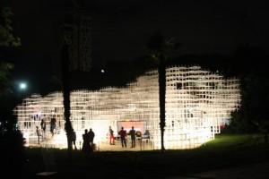 """The Cloud Pavilion"" by Sou Fujimoto in Tirana. | Photo courtesy of the Tirana Municipality."