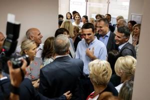 Veliaj during his official visit to Prishtina. | Photo courtesy of the Prishtina Municipality.