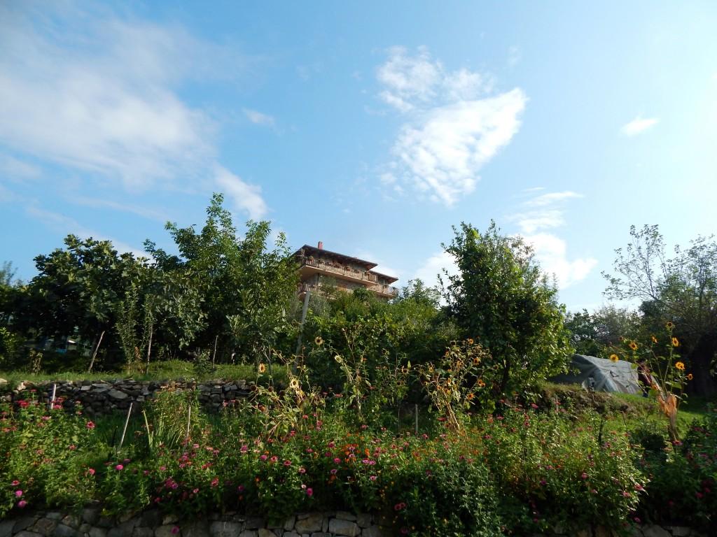 A view of Mrizi i Zanave's guesthouse.   Photo: Faith Bailey