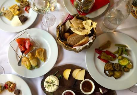 A delicious spread.   Photo: Faith Bailey
