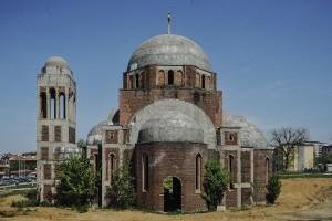 The Orthodox Church in Prishtina. | Photo: Atdhe Mulla.