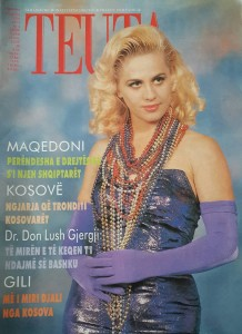 The first issue of Teuta.