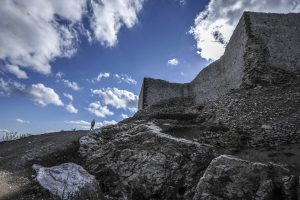 The 14th century fortress is currently undergoing EU-funded revitalizations. | Photo: Atdhe Mulla