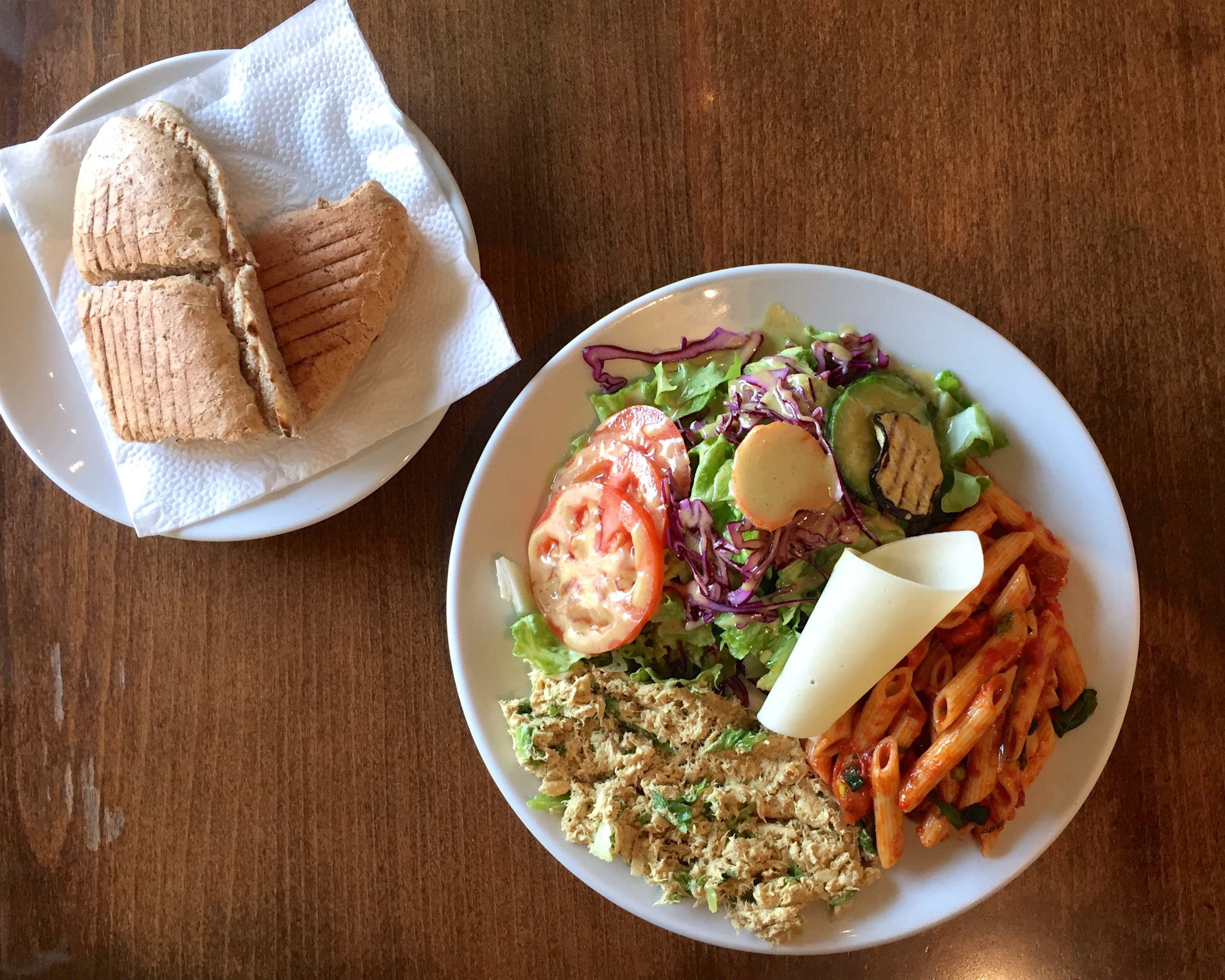 Metro's Curry Chiken Salad. | Photo: Faith Bailey