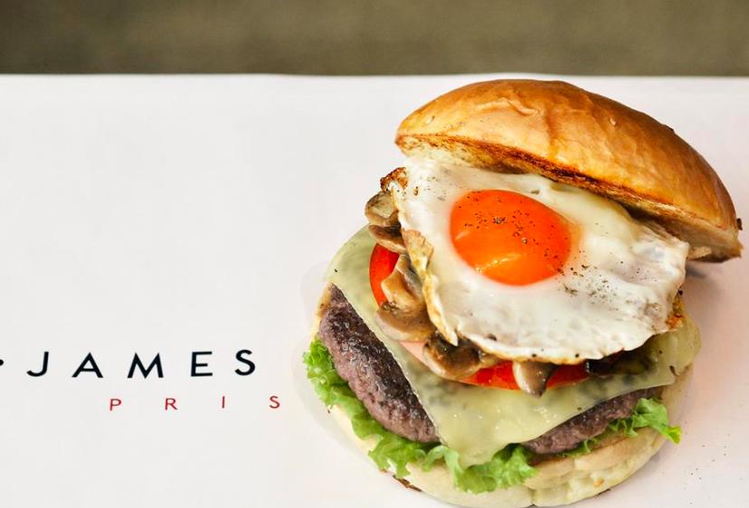 Truffel Burger at James Burger. | Photo: Facebook, James Burger