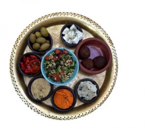 babaghanoush platter