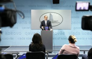 Upon returning from a trip to New York in September 2016, Hoxhaj claimed that three countries would recognize Kosovo by the end of the year. Only Singapore did so.   Photo courtesy of Kosovo MFA.