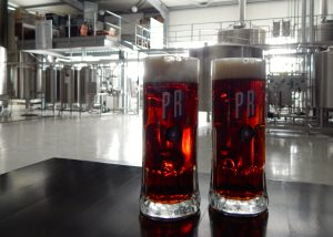Dark beer on tap at Birra Prishtina's brewery | Photo: Faith Bailey