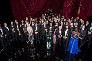 Bafta winners 2017.   Courtesy of BAFTA.