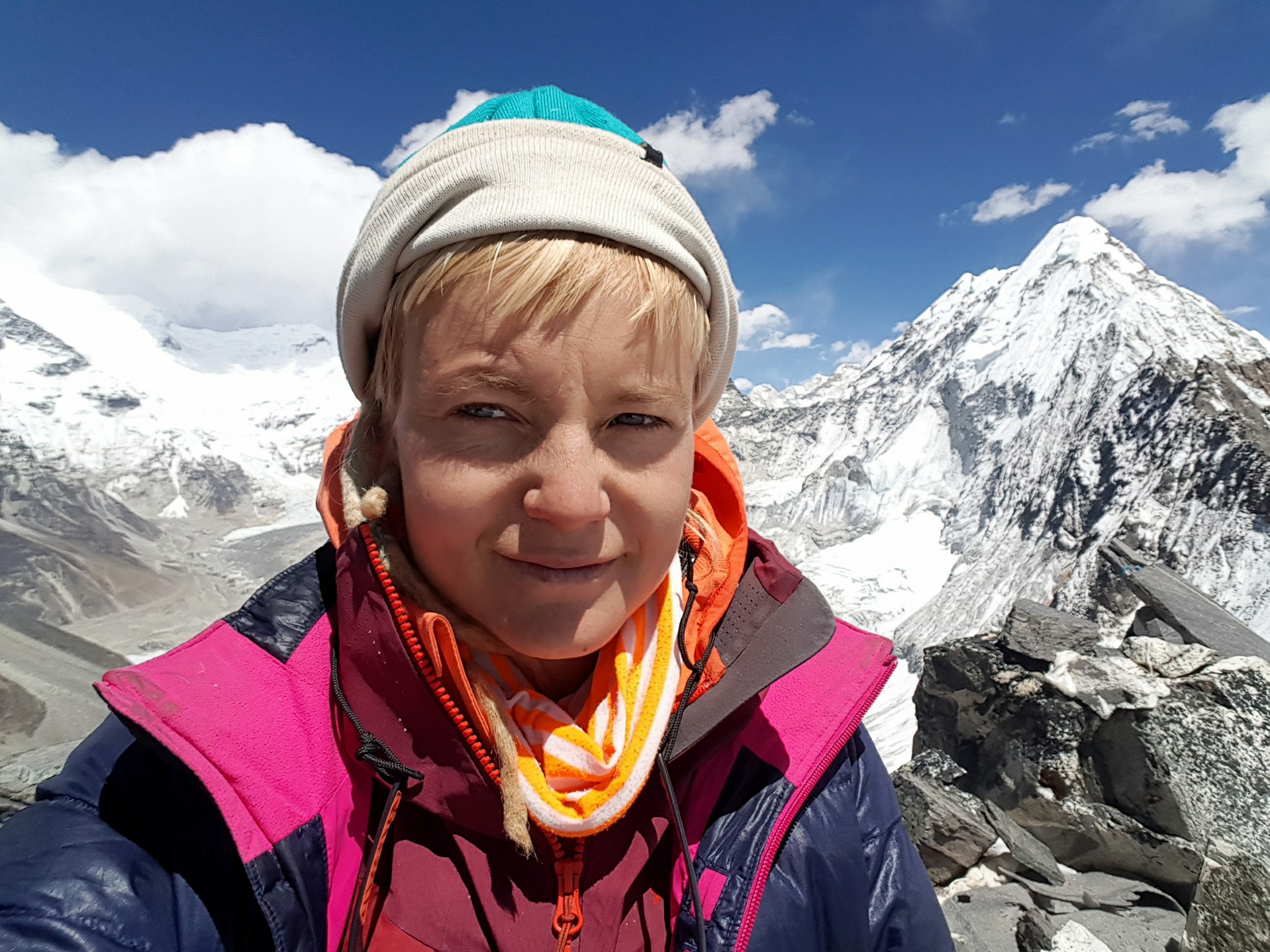 Uta Ibrahimi becomes the first Albanian woman to reach Mt  Everest